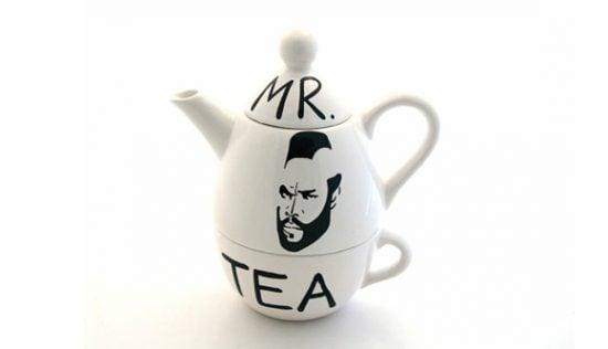Mr T Tea Pot