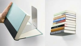 Invisible Wall Book Shelf