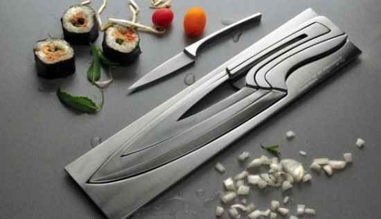Knives inside Knife Set