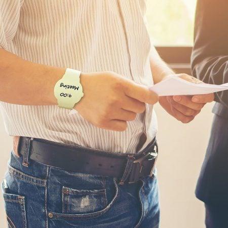 Wrist Watch Post It Notes
