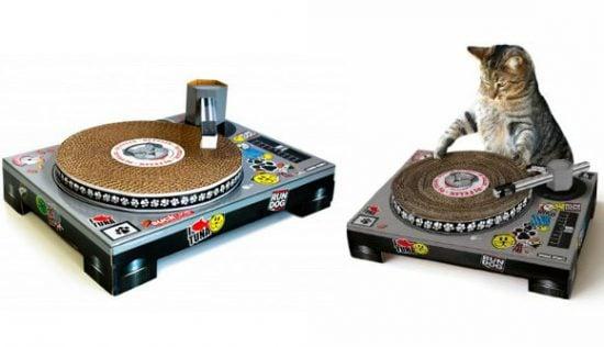 Cat DJ Scratch Pad