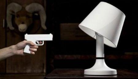 Gun Remote Lamp
