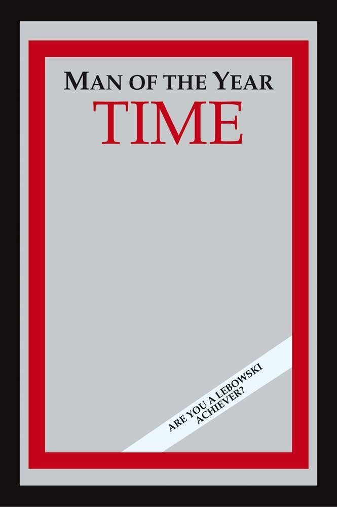 Time Magazine Cover Mirror