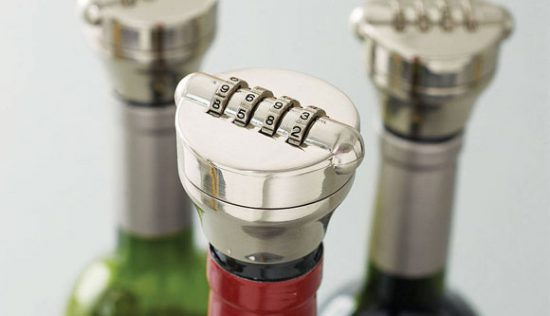 Combination Wine Bottle Lock