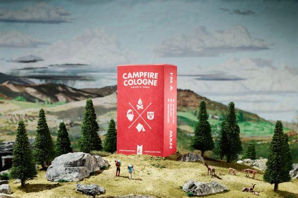 Men gather at Campfire Cologne