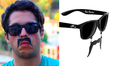 Sunglasses with Mustache