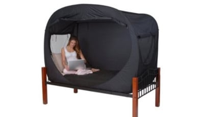 Pop Up Privacy Bed Tent