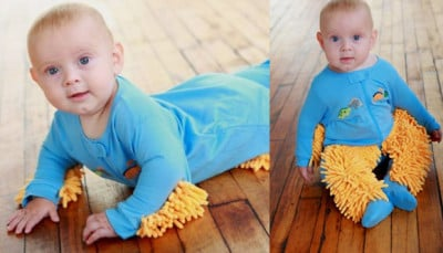 Baby Mop Outfit