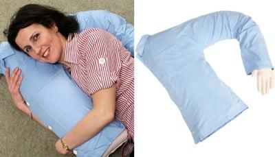 fake sex with bean bag pillow