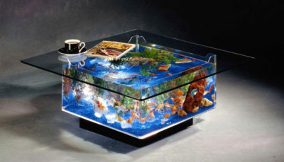 fish tank coffee table - awesome stuff to buy
