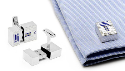 Star Wars R2D2 USB Cufflinks