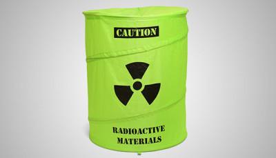 Toxic Waste Drum Laundry Basket