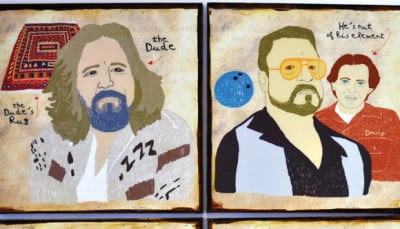 Big Lebowski Coaster Set