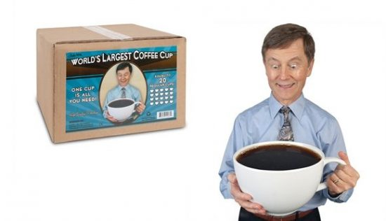 World's Largest Coffee Cup