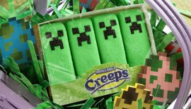 Minecraft Creeper Peeps