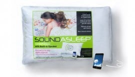 Pillow with Built-in Speaker