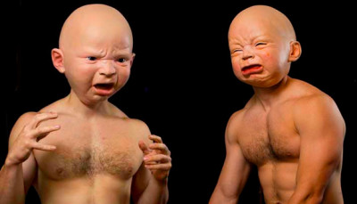 Creepy Baby Masks