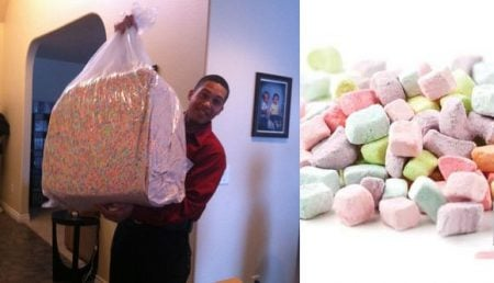 Massive Bag of Cereal Marshmallows