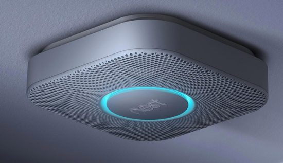 Smart Smoke Detector by Nest