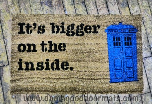Dr. Who Tardis Doormat