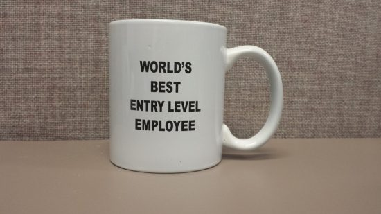 Best Entry Level Employee Mug