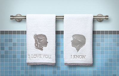 han and lea hand towels