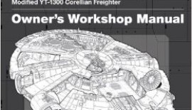 star wars millenium falcon user manual