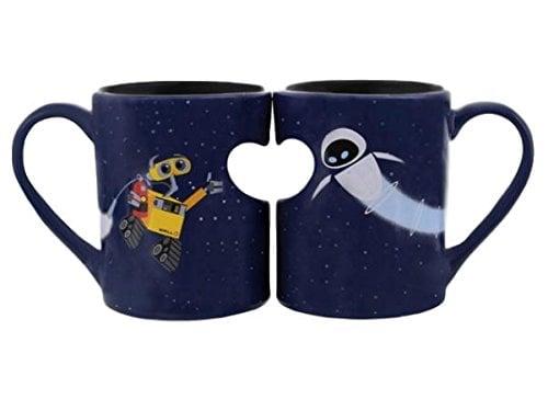 Wall-e and Eve Coffee Mugs