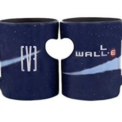 Wall-e and Eve Coffee Mugs