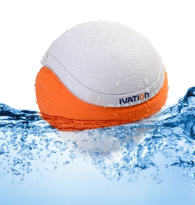 Floating waterproof portable speaker