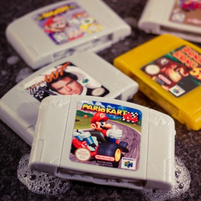 Nintendo 64 Cartridge Soap