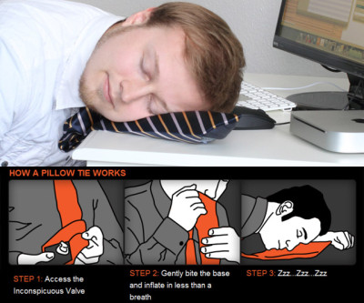 Pillow Tie Neck Tie