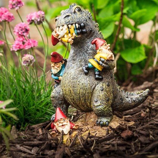 Godzilla Garden Gnome