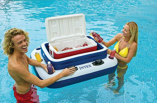 Intex Floating Cooler