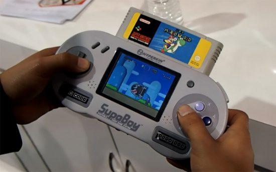 Portable Handheld SNES Console