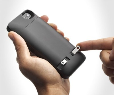 iPhone Case you can Plug into the Wall