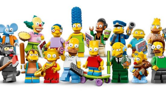 Lego Simpsons Figuirines