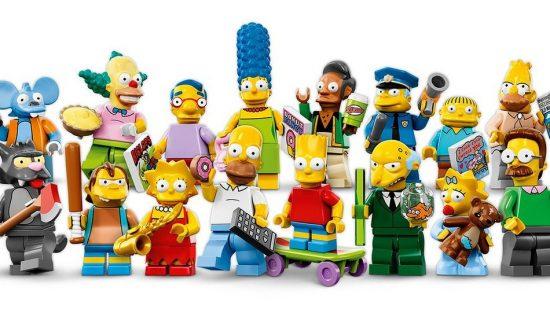 Lego Simpsons Figuirines