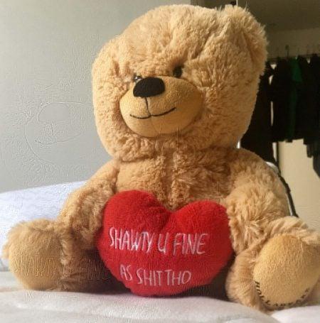 Shawty U Fine as Shit Tho Bear