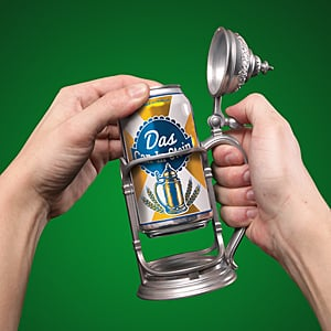 Beer Can Stein