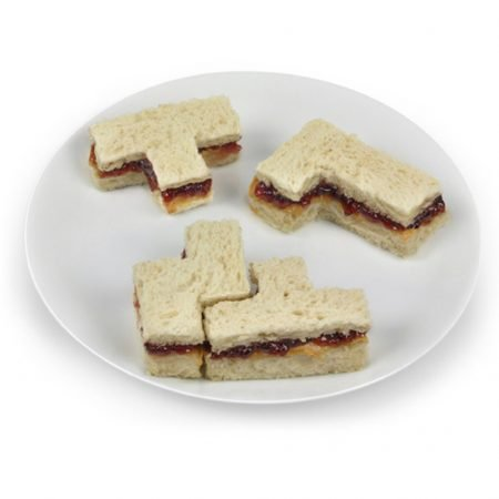 Tetris Style Crust Cutter