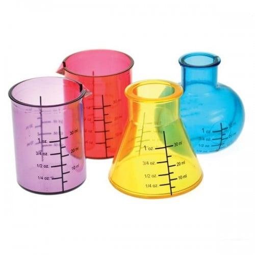 Chemistry Beaker Shot Glasses