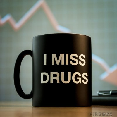 I Miss Drugs Mug