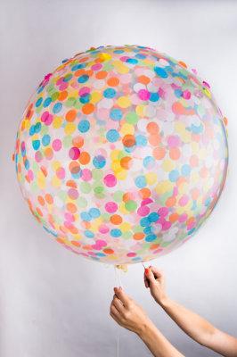 Jumbo Confetti Ballon