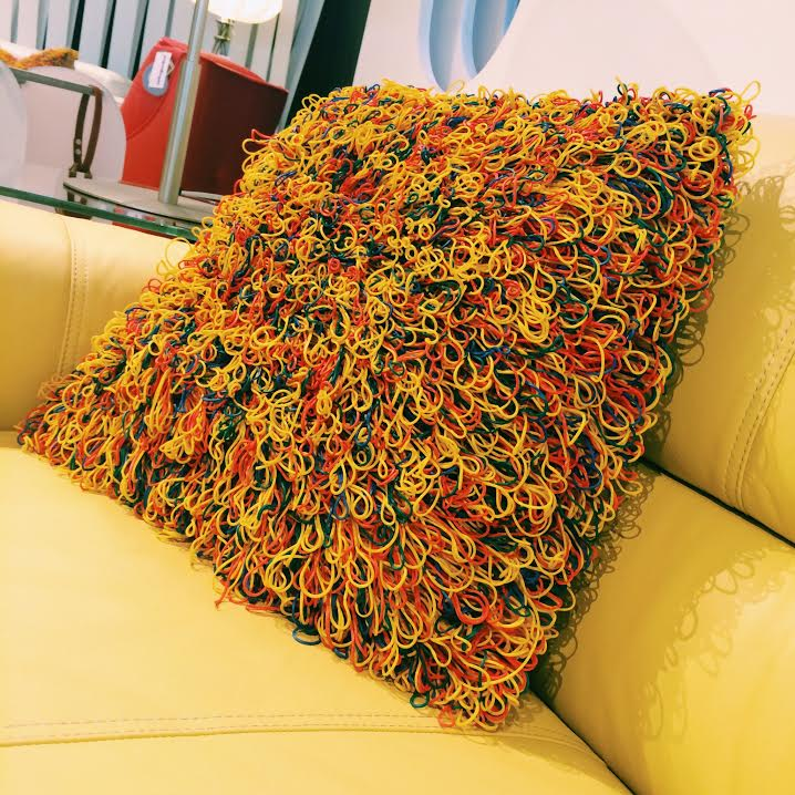 Rubber Band Pillow - Awesome Stuff to Buy