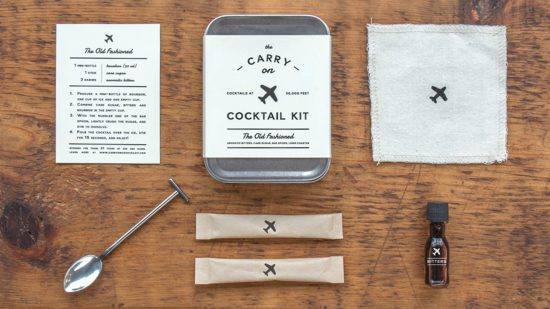 Carry-On Cocktail Kit: Old Fashioned