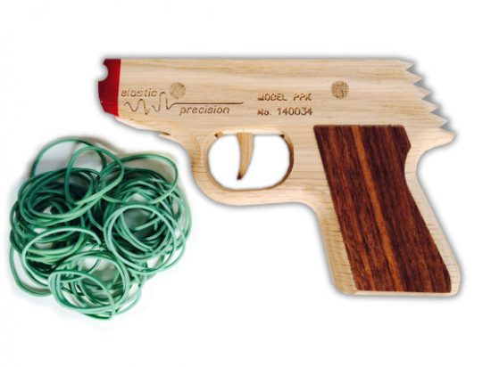 Wooden Rubber Band Guns