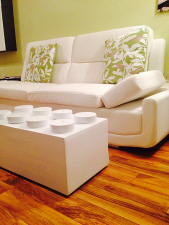 Giant Lego Brick Coffee Table