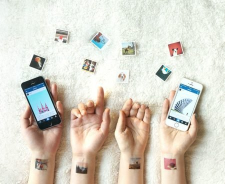 Turn Your Instagram Photos into Temporary Tattoos