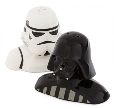 Storm Trooper and Darth Vader Salt and Pepper Shakers